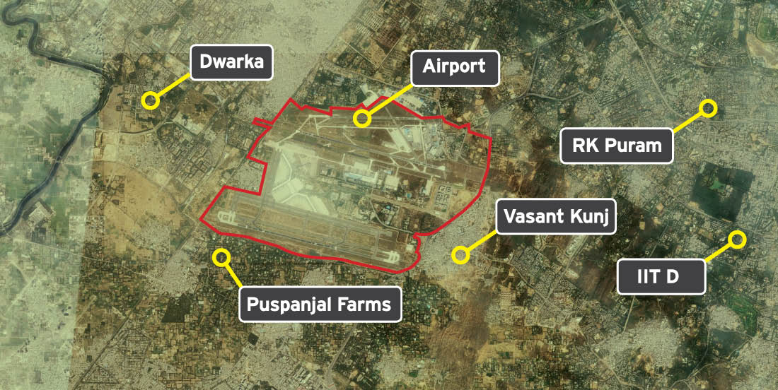 Public spaces Delhi Airport Report Design 15