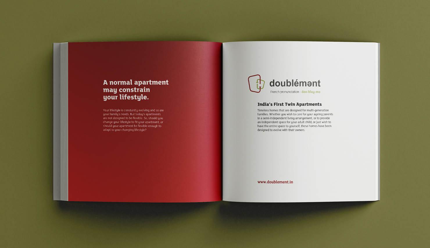 Real Estate DivyaSree Doublement Brochure Challenge 01