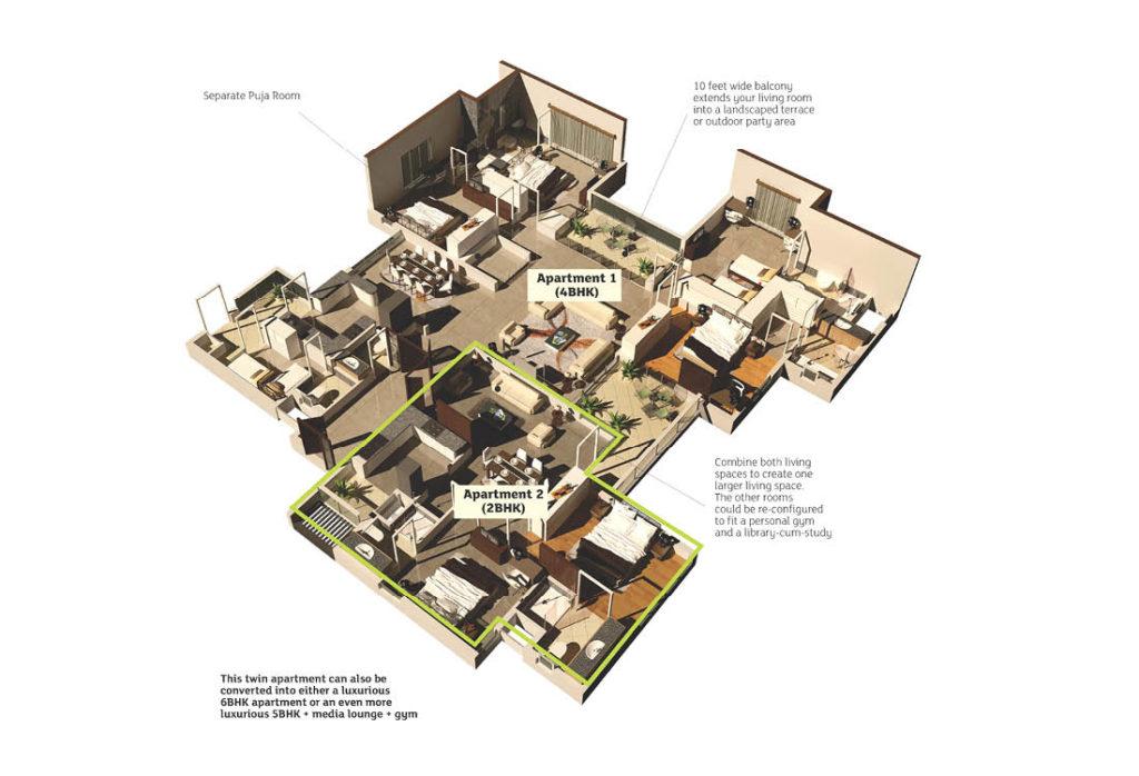 Real Estate DivyaSree Doublement Brochure Design 06