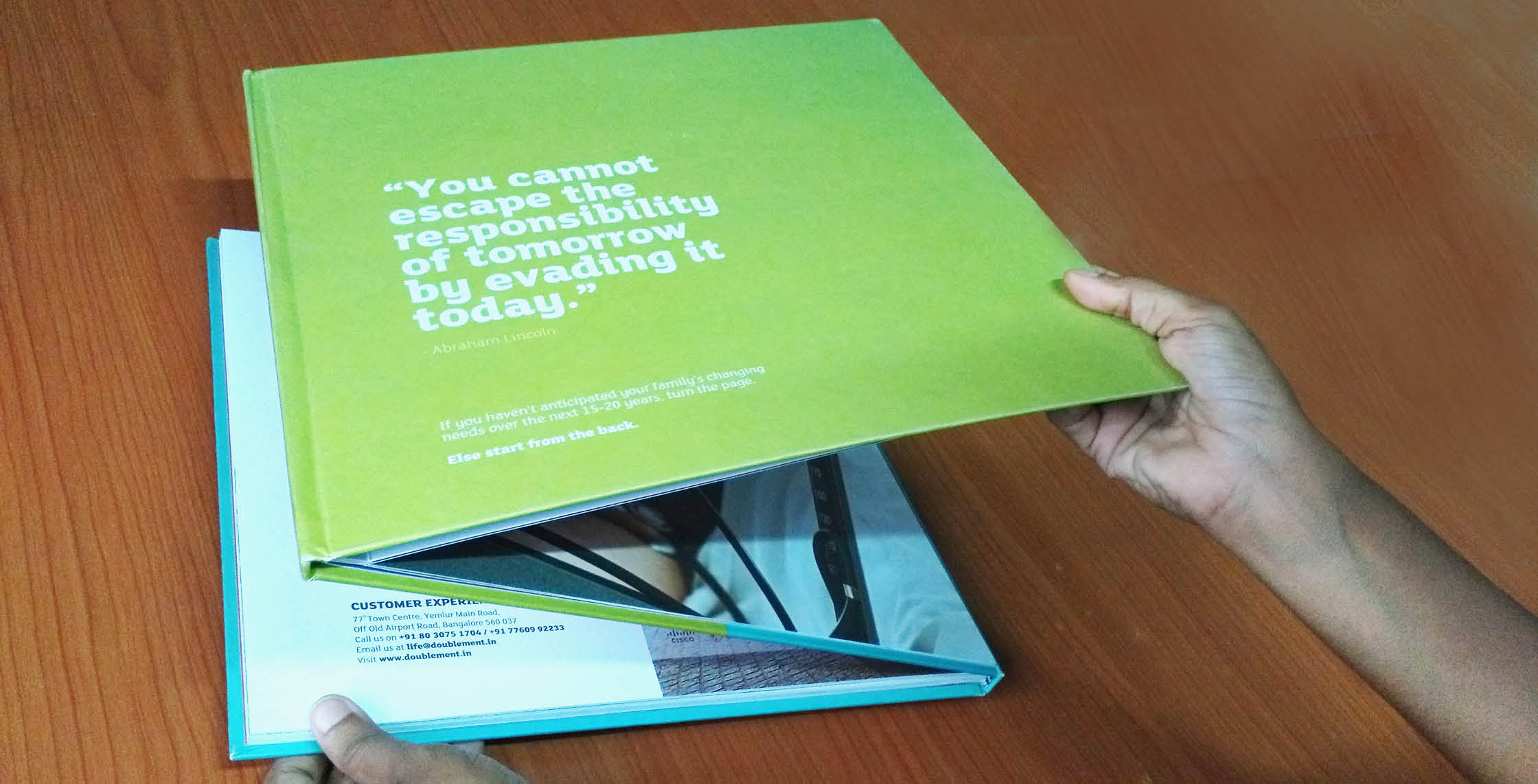 Real Estate DivyaSree Doublement Brochure Impact 09