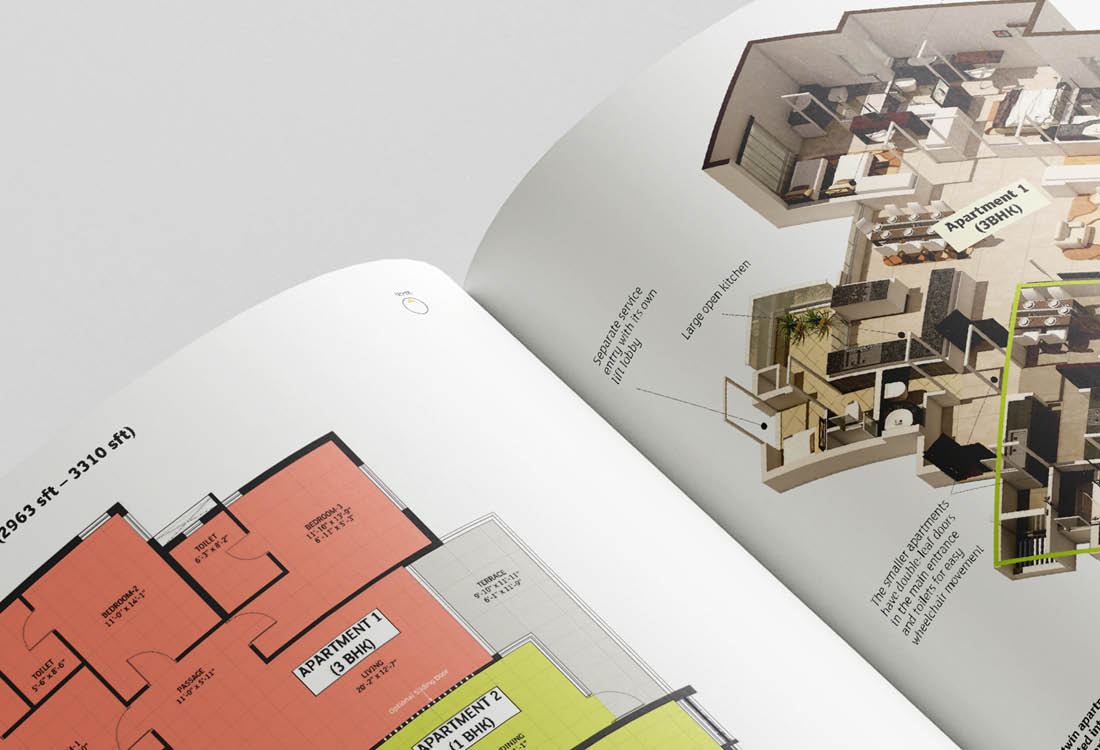Real Estate DivyaSree Doublement Brochure Impact 10