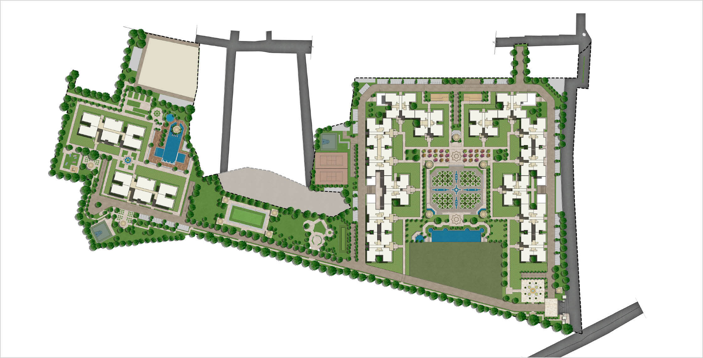 Real Estate Rezonant Design Sobha Royal Pavilion Research 08
