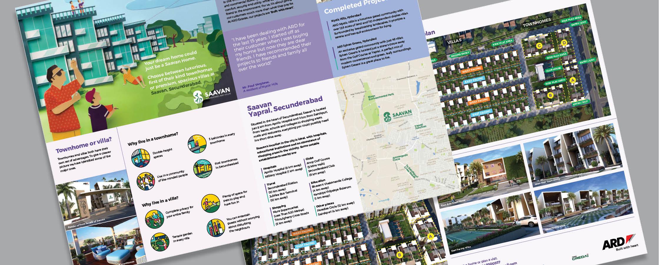 Real Estate Rezonant Design ARD Saavan Brochure Design 17