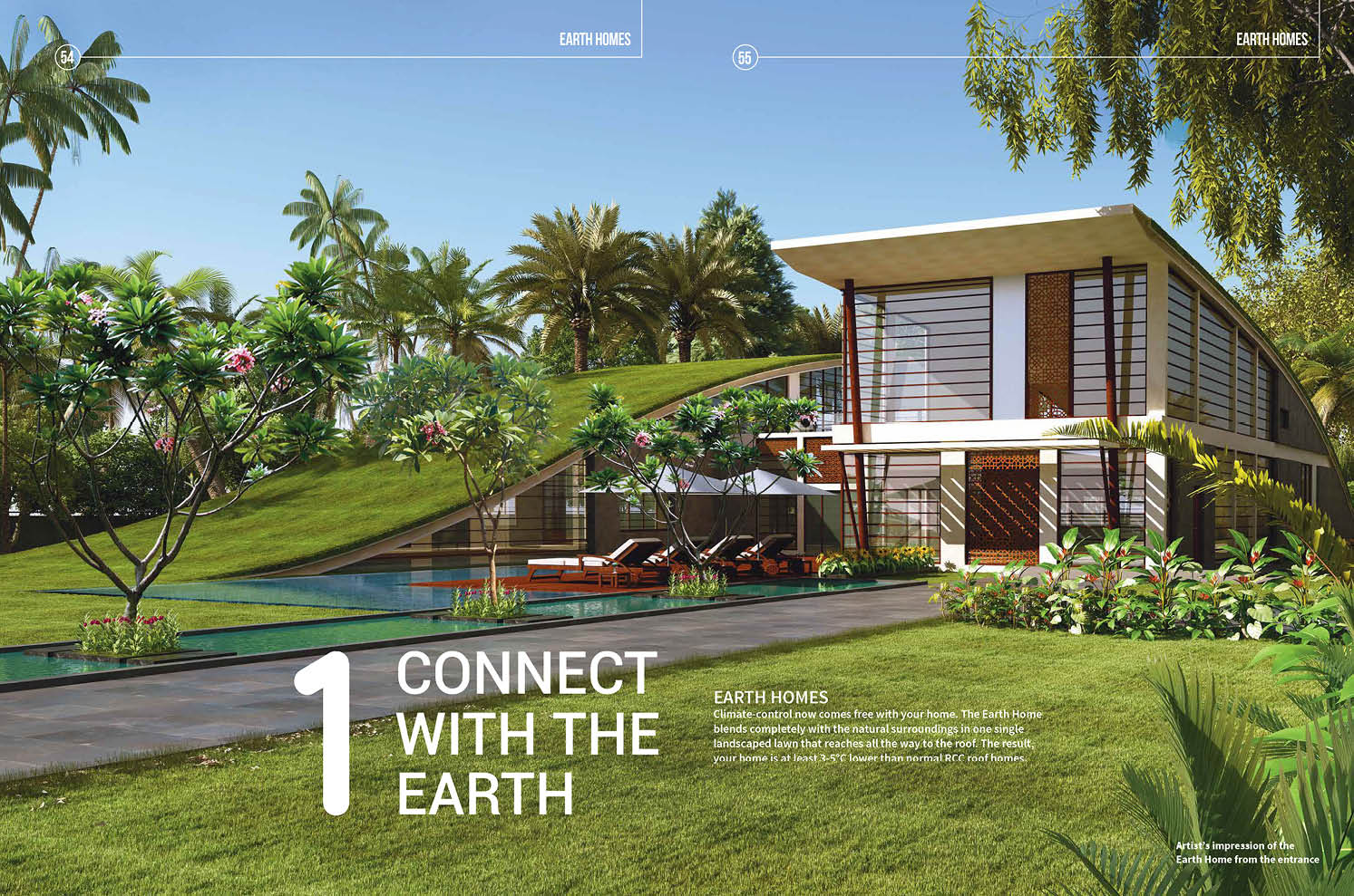 Real Estate Rezonant Design Frangipani Brochure Design 15