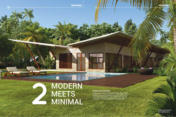 Real Estate Rezonant Design Frangipani Brochure Design 16