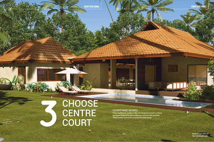 Real Estate Rezonant Design Frangipani Brochure Design 17