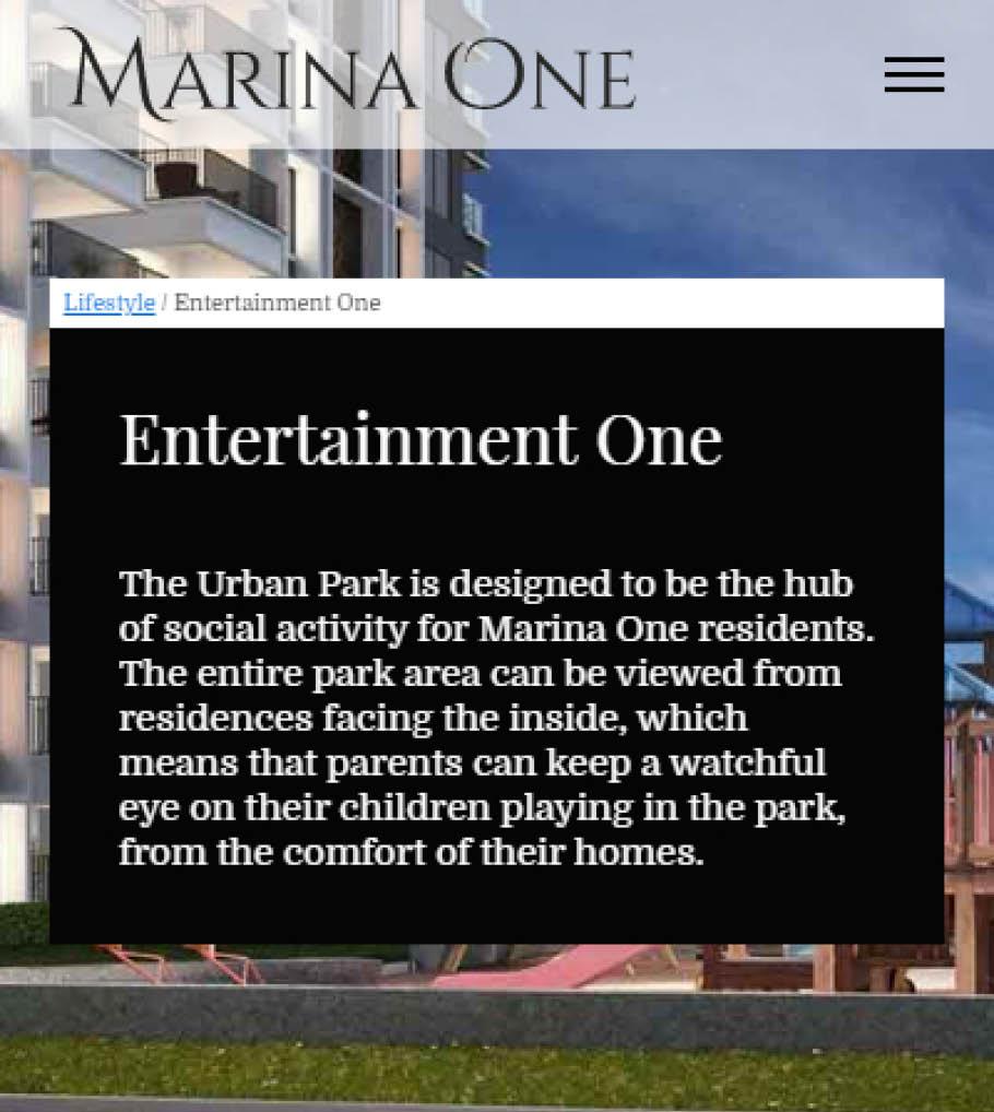 Real Estate Sobha MarinaOne Design 03