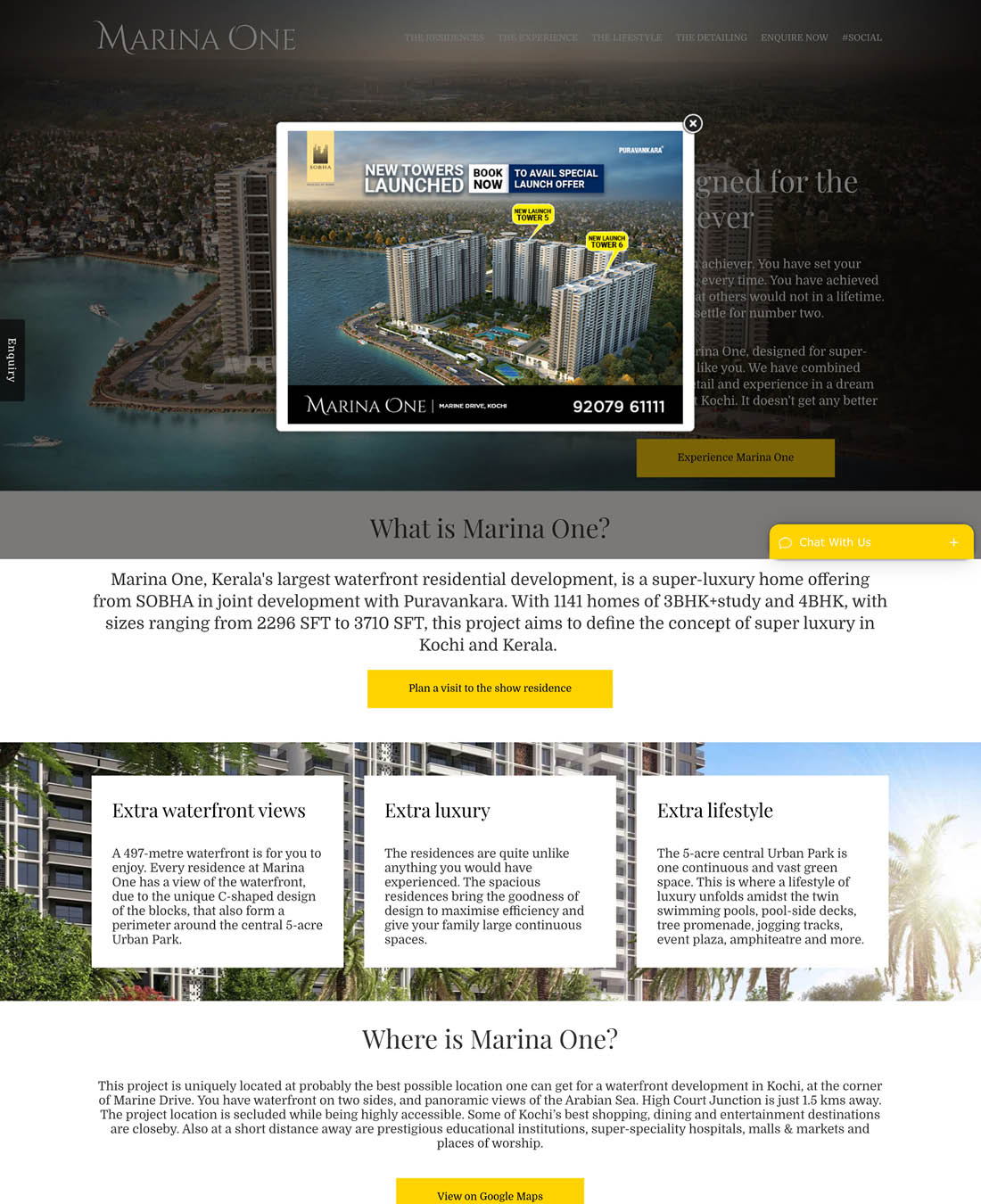 Real Estate Sobha MarinaOne Design 13
