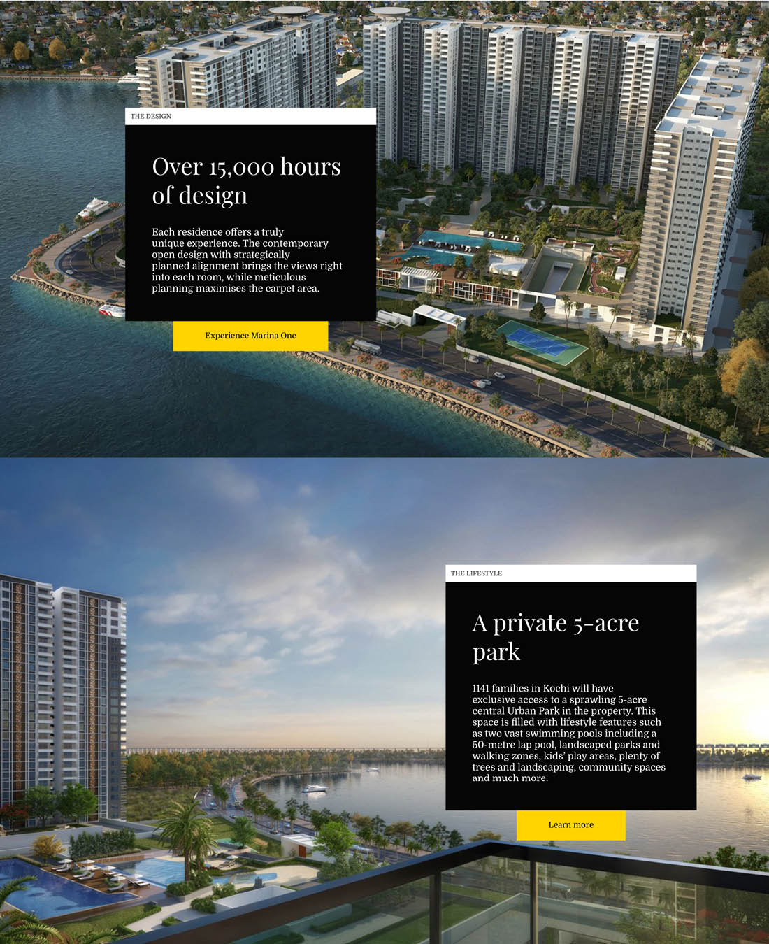 Real Estate Sobha MarinaOne Design 14