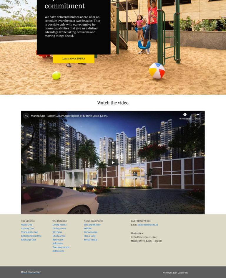 Real Estate Sobha MarinaOne Design 16
