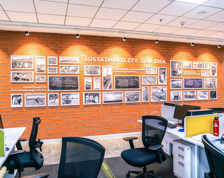 Rezonant design Conglomerate ITC Office graphics Feature image