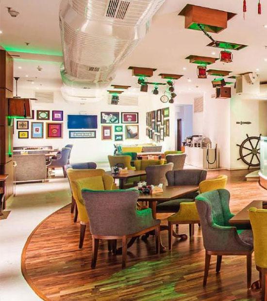 Hospitality divyasree Blimey Rezonant Restaurant Graphics Design 05