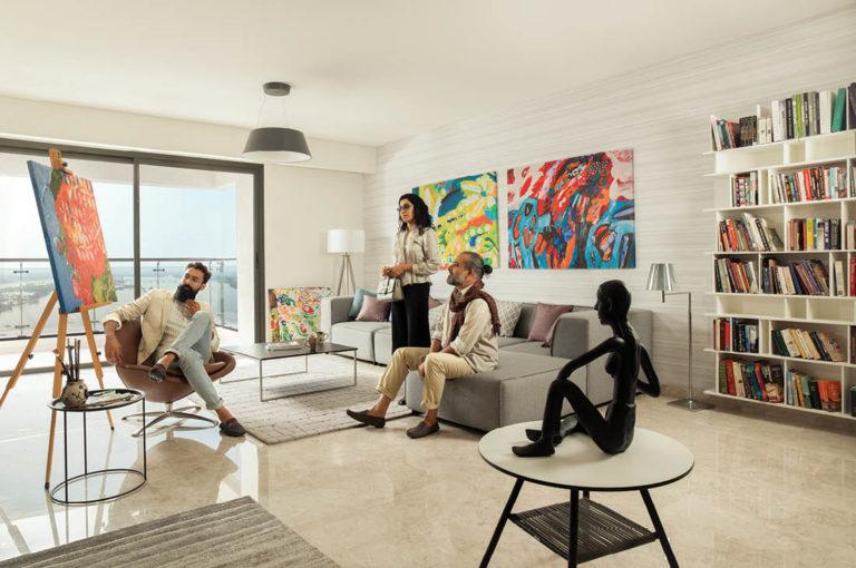 Real Estate Rezonant Design Sobha Marina One Launch Design 07
