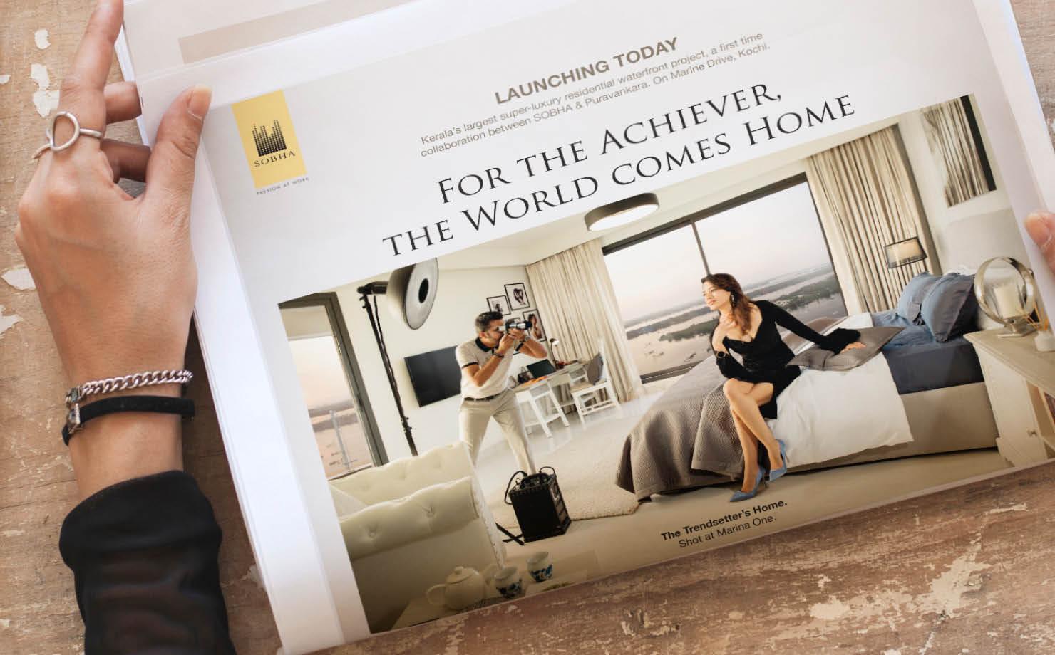 Real Estate Rezonant Design Sobha Marina One Launch Outcome