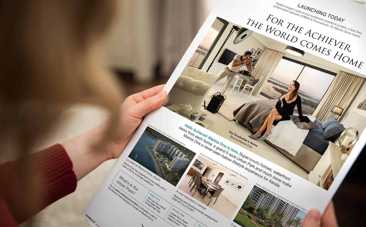 Real Estate Rezonant Design Sobha Marina One Launch Strategy 01