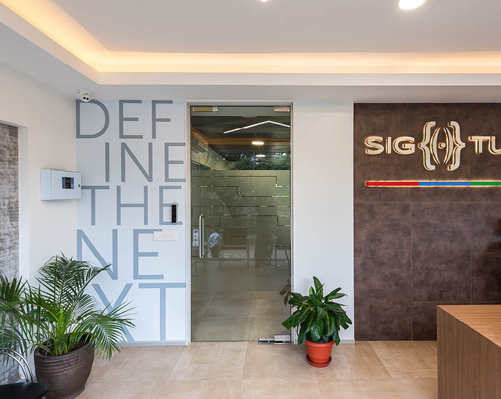 Rezonant design Healthcare SigTuple Office graphics Feature image