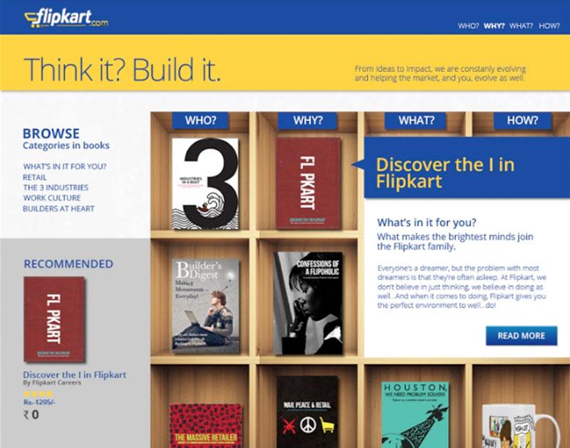 careers website for Flipkart