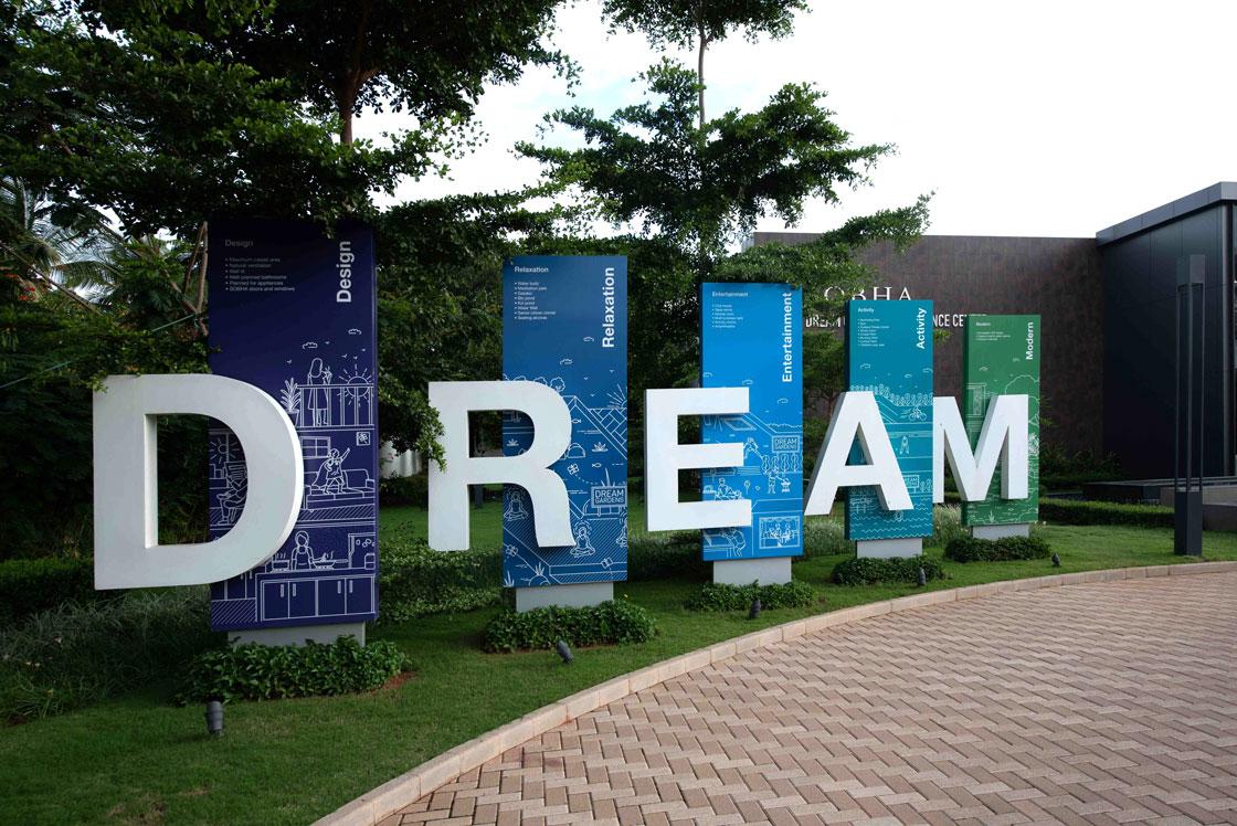 Real Estate Rezonant Design Sobha Dream Guarden 40