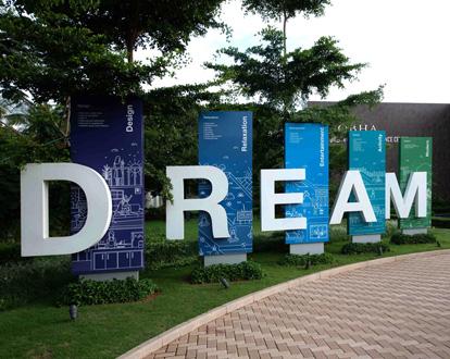 Real Estate Rezonant Design Sobha Dream Guarden 52