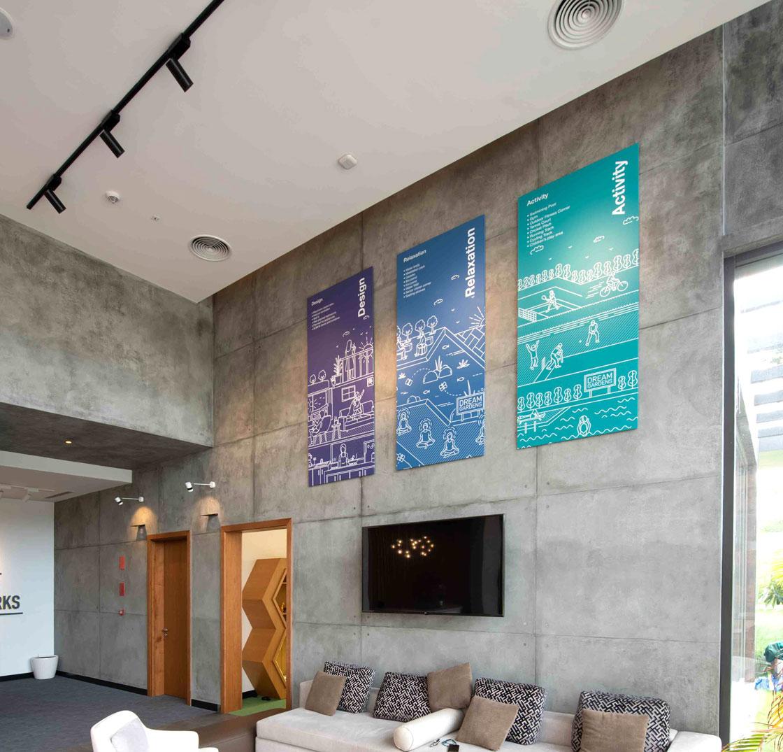 Real Estate Rezonant Design Sobha Dream Guarden 70